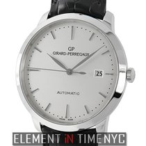 Girard Perregaux 1966 40mm Stainless Steel Automatic Silver...