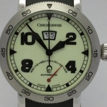 "Chronoswiss ""Time Master Retrograde Day"" Luminor dail...."