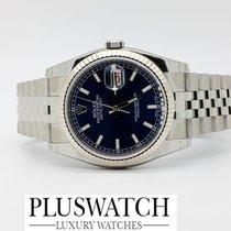 Rolex DATEJUST 116234 Blue Dial Jubilee Indici