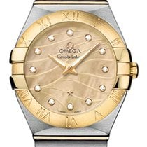 Omega Constellation Brushed 27mm 123.20.27.60.57.001