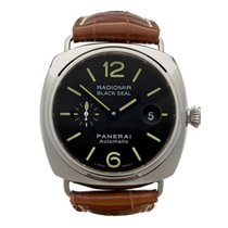Panerai Radiomir Black Seal Stainless Steel Gents PAM00287 -...