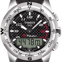Tissot T-Touch II Titan PVD silber Herrenuhr T047.420.47.207.00