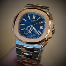 Patek Philippe Steel and Rose Gold Men Nautilus 5980/1AR-001...