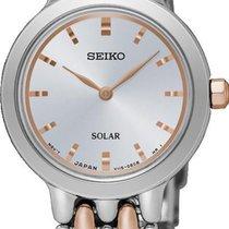 Seiko Solar SUP351P1 Elegante Damenuhr Sehr Elegant