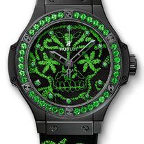 Hublot Big Bang Broderie Sugar Skull Fluo Malachik Green...
