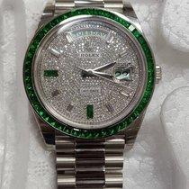 """Rolex Day-Date 40 Green Emerald """"Very Rare"""""""