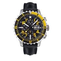 Fortis Marine Maestro Yellow chronograph 6712414