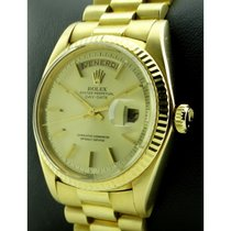 Rolex | Day Date in Yellow Gold 18 KT, President Bracelet