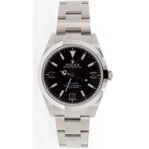Rolex Explorer Model 214270 Stainless Steel 39mm Case