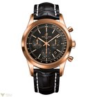 Breitling Transocean Chronograph 18k Rose Gold Men's Watch