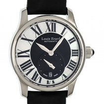 Louis Erard Emotion Small Second Stahl Perlmutt Automatik 36mm