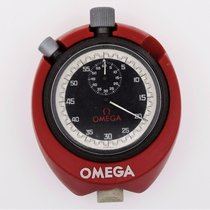 Omega Stop Watch with Red Case/Stand Vintage Working (B2577)