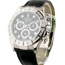 Rolex Used 116589BRIL_used_blk_diamond White Gold DAYTONA on...