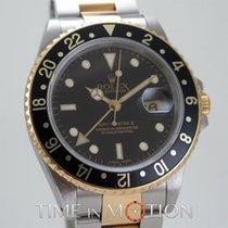 Ρολεξ (Rolex) GMT MASTER II 16713 Or Acier  + Boite