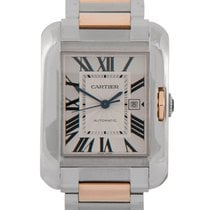 Cartier Tank Anglaise Gents Steel & Rose Gold, Ref: 3507...