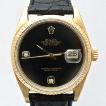 Ρολεξ (Rolex) Datejust 16018 original Onyx dial with diamonds