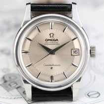 Omega CONSTELLATION 14393 61 SC PIE PAN  561 Vintage Steel Watch