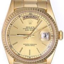 Rolex Men's 18 Gold Rolex President - Day-Date Watch 18238...