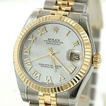 Rolex Midsize Datejust 31mm 178273 18k Yg & Steel Factory...