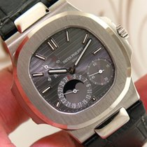 Patek Philippe Nautilus Ref 5712G 18k White Gold Men's...