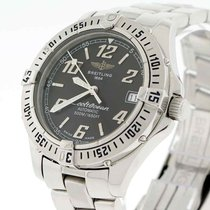 Breitling Colt Ocean Automatic Black Dial 38MM Steel Fighter...