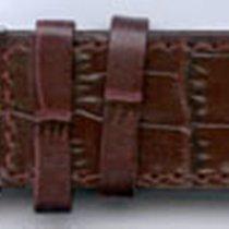 Leder-Armband Olympia 26mm Farbe: weinrot (dunkel)