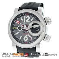Graham New Men Swordfish GMT Grillo Alarm 2SWGS.B23A Automatic