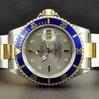Rolex SubmarinerSteel & Gold Silver Diamond & Sapphire