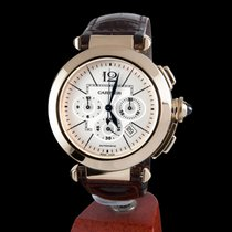 Cartier pasha chronograph yellow gold automatic