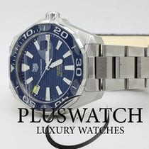 TAG Heuer Aquaracer Calibro 5 Automatic 43mm Blue Dial G
