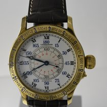 Longines Lindbergh Limited Edition 47.50mm 18k Yellow Gold