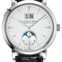 A. Lange & Söhne Saxonia Moon Phase 40mm Mens Watch