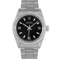 Rolex Oyster Perpetual Midsize Black Dial Ref: 67480