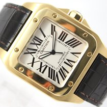Cartier SANTOS 100 - 18K/750 YELLOW GOLD 2657