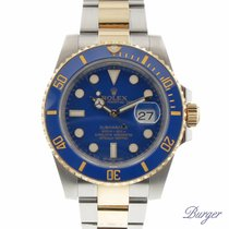 Rolex Submariner Date Rolesor Blue Cerachrom
