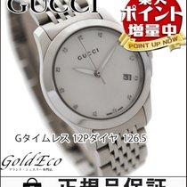 Gucci 【美品】GUCCI【グッチ】 Gタイムレス 126.5 クォーツ レディース腕時計【中古】 YA126504...