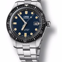 Oris Divers Sixty Five mit Stahl-Armband