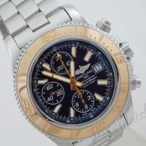 Breitling Superocean Chronograph II  st/g 18ct