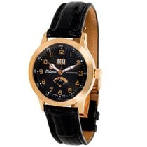Tutima Valeo Reserve 640/644 Men's Watch in 18K Rose Gold