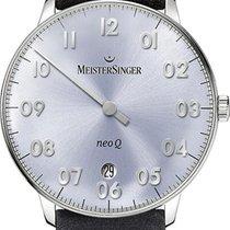Meistersinger NeoQ NQ908N Einzeigeruhr Mit Wechselband