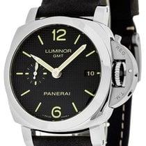Panerai PAM00535 Luminor 1950 3 Days GMT Acciaio Men's...