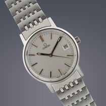 Omega Geneve stainless steel manual watch