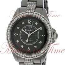 Chanel J12 Chromatic 38mm Automatic, Grey Diamond Dial,...