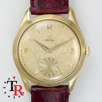 Omega Vintage Rose 18k gold 36MM lunar dial