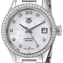 TAG Heuer Women's WV2413.BA0793 Carrera Diamond Accented Aut