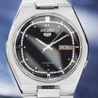 Seiko 5 Automatic Mens Rare 1970s Stainless Steel Day Date...