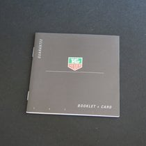 TAG Heuer Instructions Guarantee Booklet