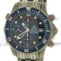 "Omega Seamaster ""Titane"" Diver 300m Chronograph, Blue..."