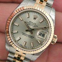ロレックス (Rolex) Datejust Silver Stick Dial 179173 New Style Wow