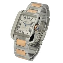 Cartier W5310007 Tank Anglaise Mid Size - Steel and Rose Gold...